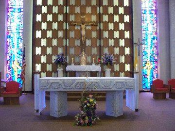 St. Frances Cabrini Altar